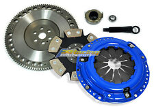 FX STAGE 4 CLUTCH KIT+FORGED LIGHT RACE FLYWHEEL 92-05 HONDA CIVIC 93-95 DEL SOL