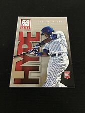 "ADDISON RUSSELL ROOKIE INSERT ""HYPE"" CHICAGO CUBS ELITE 2015 RC BASEBALL CARD"