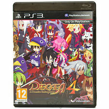 Disgaea 4: A Promise Unforgotten (PS3) Real Time Strategy Rare Game Complete PAL