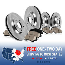 Front and Rear Brake Disc Rotors & Ceramic Pads Kit BMW E60 525 525i 528i 530i