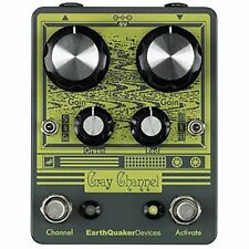 EarthQuaker Devices Gray Channel 2-Ch Overdrive Distortion Guitar Effects Pedal