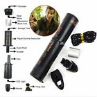 10-in-1 Survival Tool Camping Hiking Emergency Kit Compass Flint Fire Starter