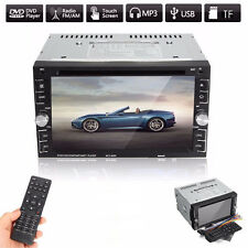 6.2 Zoll HD Bluetooth Touchscreen Auto Stereo Radio DVD CD MP5 Spieler AUX DC12V