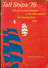 TALL SHIPS '76 Official Souvenir Program International Sail Training Race 1976