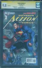 Superman Action Comics 1 CGC SS 9.8 Jim Lee Variant 2016 Dawn of Justice Movie