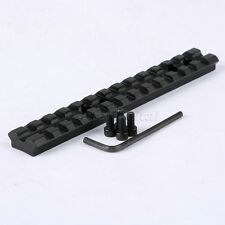 "Hunting 5.5"" 140mm Weaver Picatinny 20mm Rail Scope Rifle Gun Mount Base 13 Slot"