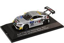 1:43 Audi TT RS 24h Nürburgring 2011 Raeder Nr.126 Hohenadel Molina - Dealer OEM