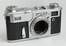 Soviet Russian rangefinder film camera body Kiev 4A Contax FOR PART REPAIR USSR