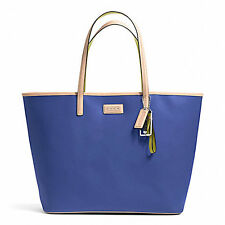 NEW ARRIVAL! COACH PARK METRO LEATHER TOTE BAG PORCELAIN BLUE $328 SALE
