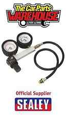 New Sealey VSE2020 Cylinder Piston Leak Down Pressure Tester Head Gasket 2 Gauge