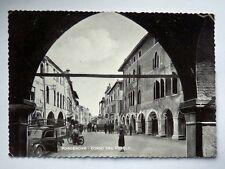 PORDENONE Corso del Popolo animata vecchia cartolina