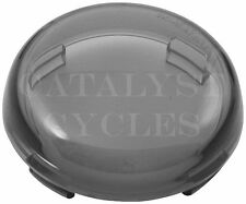 SMOKED REPLACEMENT LENS FOR HARLEY TURN SIGNAL REPLACEMENT LENS - DEUCE STYLE