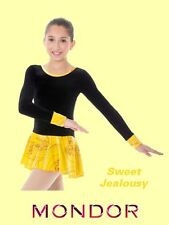 Mondor® #2744 Sweet Jealousy Child Size 12-14 Velvet Ice Skating Dress/Costume
