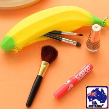 Portable Banana Coin Pencil Case Bag Wallet Pouch Creative Silica Gel SPBAG1033