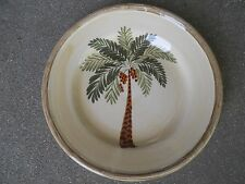 "Home Trends WEST PALM 8"" Salad Plate  Palm Tree"