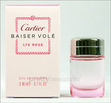 ღ Baiser Vole Lys Rose - Cartier - Miniatur EDT 6ml *New 2014*
