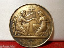 1861 Historical Silver Marriage Saint Matthew Medal Token Wedding
