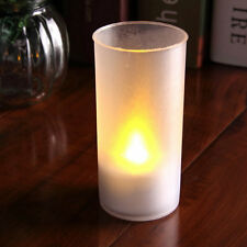 1 PC Romantic Flameless Blow Shake Sound Sensor LED Candle Tea Light U9