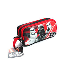 Star Wars Boy Cartoon Baymax School Pencil Bags Large Capacity Pencil Case