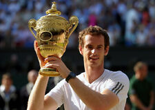 Andy Murray ‏ 10x 8 UNSIGNED photo - P312 - Grand Slam Tennis Champion