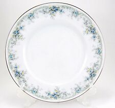 Noritake LIMERICK 3063 Dinner Plate 10.5 in. Ireland Blue Flowers Border