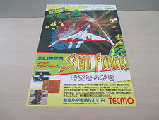 SUPER STAR FORCE SHOOT FAMICOM NES ORIGINAL JAPAN HANDBILL FLYER CHIRASHI!