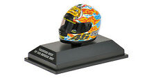 Minichamps 397 010076 AGV CASCO VALENTINO ROSSI GP 500 MUGELLO 2001 1:8 TH scala