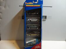Hot Wheels Showroom Specials 5 Car Gift Pack
