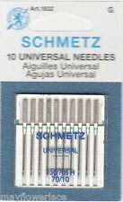 10 pk Schmetz Universal Machine Needles Sizes 70/10, Art. 1832