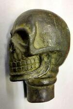 Vintage Bastón Asa de caña de Cráneo Gótico Steampunk momento Mori satánico
