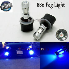 880 Plasma LED Bulbs Fog Light DRL Projector 893 899 10K 10000K Deep Blue 11W U