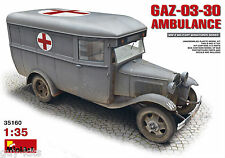 AMBULANCE SOVIETIQUE TYPE GAZ-03-30 - KIT MINIART 1/35 n° 35160