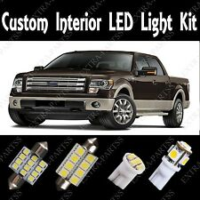 13 PCS Super White LED Light Bulbs Interior Package Kit For 2004-2012 Ford F150