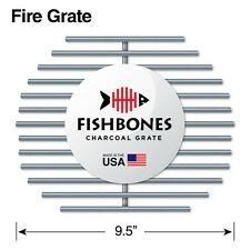 Fishbones Charcoal Fire Grate Upgrade for Large Big Green Egg (R)