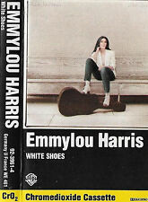 Emmylou Harris ‎White Shoes CASSETTE ALBUM Country, Folk WB 92-3961-4  1983