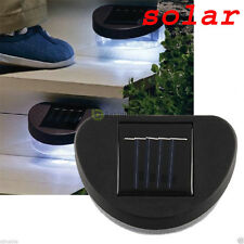 2LED Outdoor Solar Powered LED Path Wall Landscape Mount Light Lamp Garden Fence