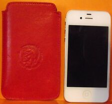Diesel New Hastings-Molten Lava Red Genuine Leather iPhone 3G/3GS+4/4s+5/5s #S