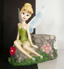 Disney Tinkerbell Figurine Planter 4536 Damage