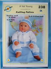 A Val Young *DOLLS KNITTING PATTERN *238* FOR  BENJAMIN