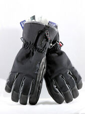 Hestra Czone Alpine Leather Black Gloves Mens Winter Ski Snowboard M - 8
