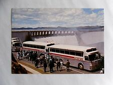 c1960 Colour Postcard. Silver Eagle Motor Coaches/ South African Railways. Dam