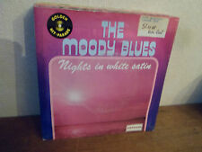 "SP 7"" THE MOODY BLUES - Nights in white satin -Etiquette JUKEBOX VG+/VG+ BELGIUM"