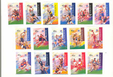 Australia-Football Centenary- set of 16 self-ad (1606-21)mnh -Sport-Rugby
