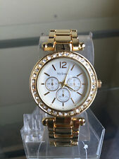 newstuffdaily: NIB STYLE & CO Gold Tone Ladies Watch FREE SHIP