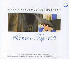 Koren Top 50 : Wereldberoemde koorwerken (3 CD)