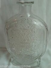 Schenley Glass Embossed Ball Decanter