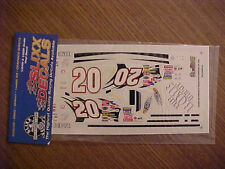 2003 TONY STEWART #20 HOME DEPOT 1/24-1/25-1/32 SCALE SLIXX VINYL  DECAL SHEET