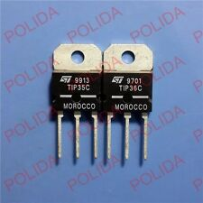 1PAIR OR 2PCS Transistor ST/MOTOROLA/ON TO-218(SOT-93) TIP35C/TIP36C