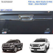 Chrome Rear Tailgate Bowl Accent Cover For Isuzu Holden D-Max Dmax 2016 2017