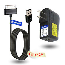 USB Ac Adapter Charger for Samsung Galaxy Note 10.1 N8000 Tab 10.1 P7510 Tab 2